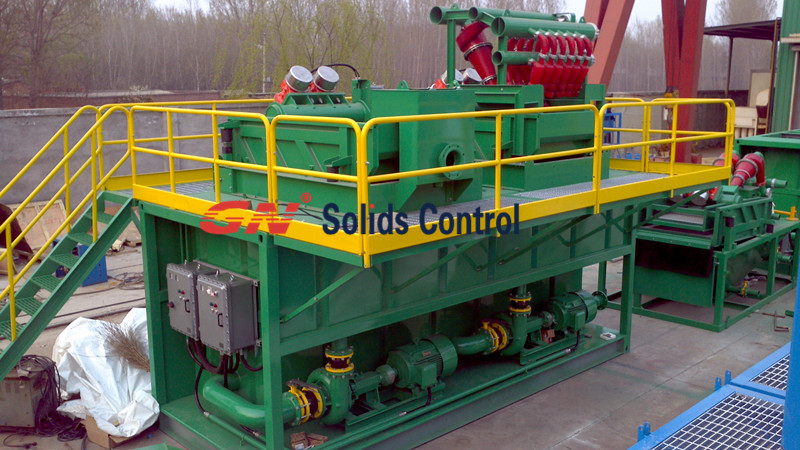 GN Mud Recycling System For HDD Sailing to Middle East