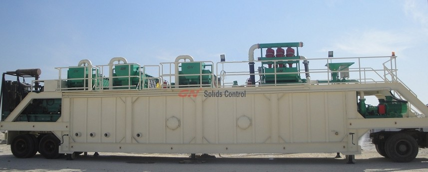1000 gpm mud recycling system