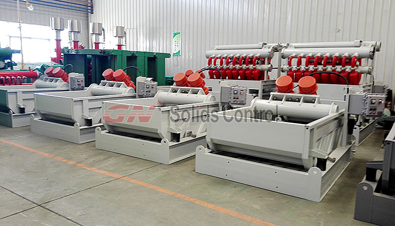 shale shaker mud cleaner