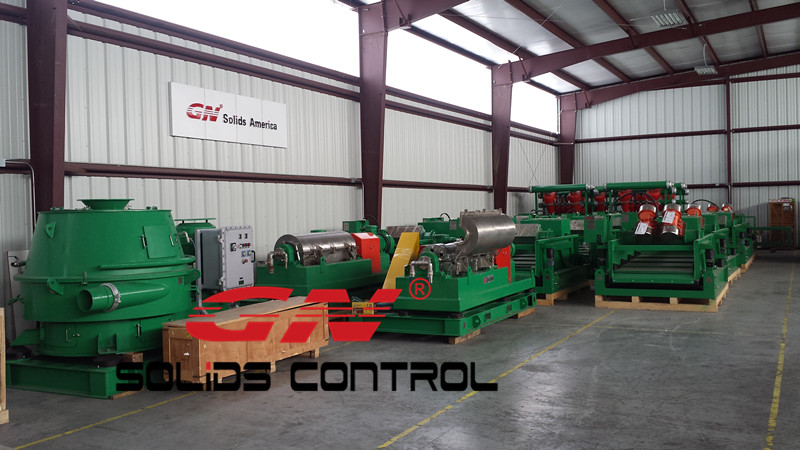 GN Centrifuge and Cuttings Dryer